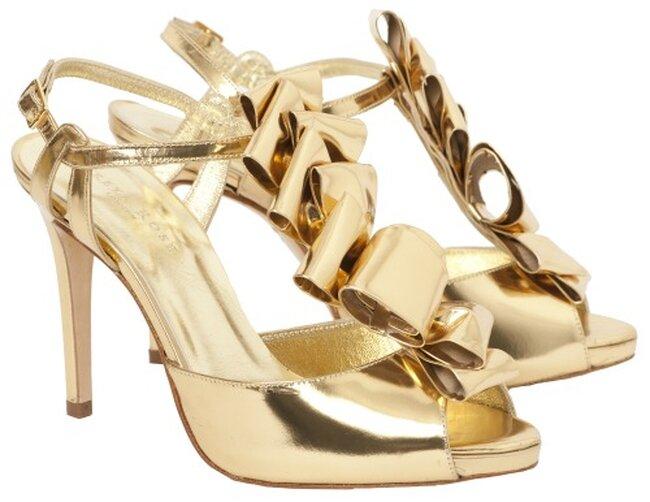 Sapato de noiva de Freya Rose. Foto: Freya Rose