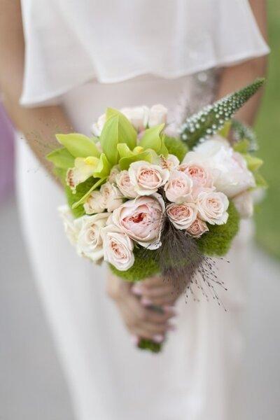 Ramo de novia con rosas - Jessica Claire
