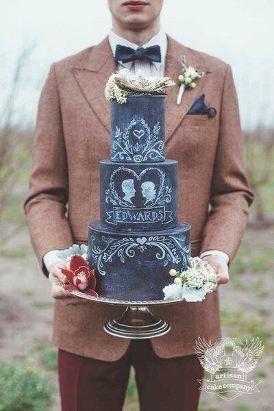 Moderne Hochzeitstorten