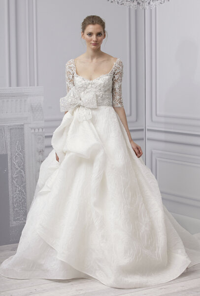 Vestido de novia de Monique Lhuillier - Primavera 2013