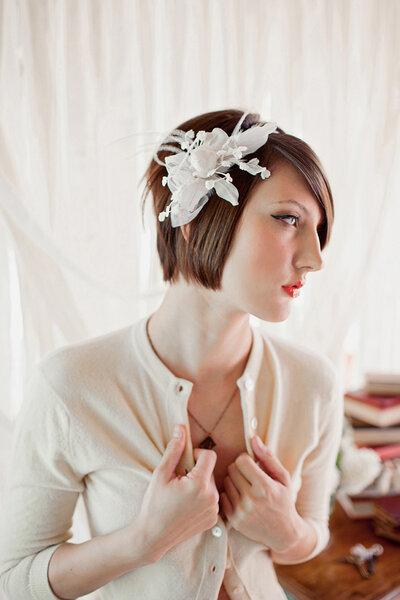 Accessorio handmade by Mignonne Handmade via Style me pretty