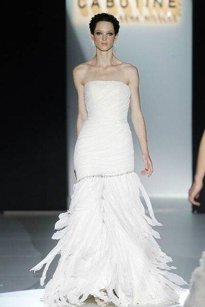 Vestido de noiva da coleção Cabotine 2013, de Gema Nicolás. Foto: Barcelona Bridal Week