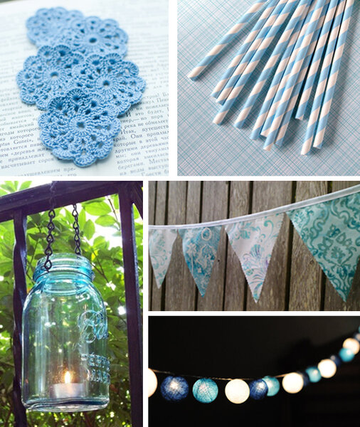 Tips para una novia en color azul cielo for Decoracion de cielo