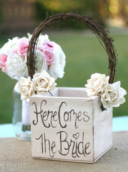 Gestalten Sie die Körbe der Blumenmädchen