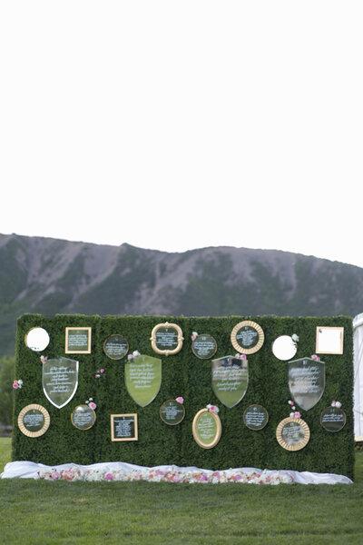 Hochzeitsdekorationen mit Spiegeln: Glanz für die traumhafte Location ...