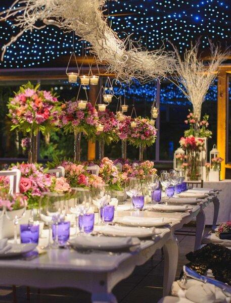 Decoración de boda rústica 2017