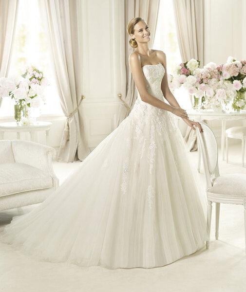Vestidos de novia 2014 colección Glamour - Foto Pronovias