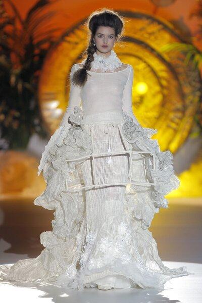 Vestidos de novia primavera 2015 de Inmaculada García