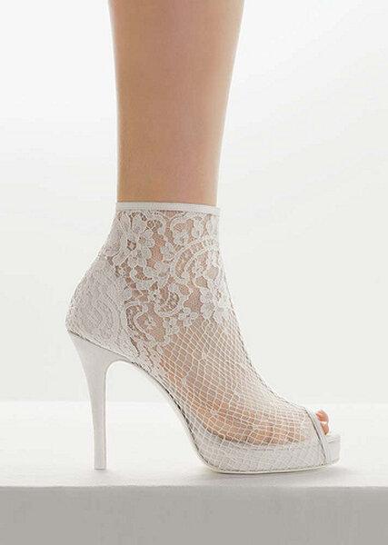 Zapatos para novia Rosa Clará 2012