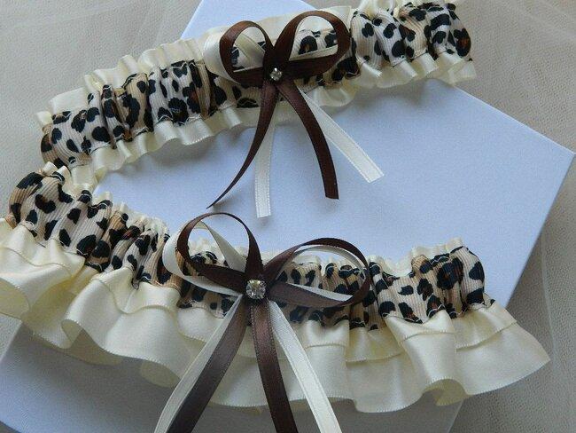Originelles Strumpfband für die Braut. Gefunden bei Etsy