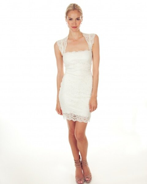 Suknia ślubna, Nicole Miller 2013