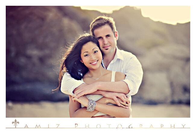 Sesión de fotos pre boda de Jennifer y Joe en Maui - Foto Tamiz Photography