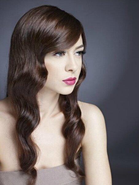 Coiffure de mariée pour cheveux longs