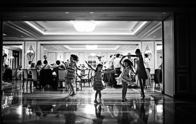 los niños en las bodas