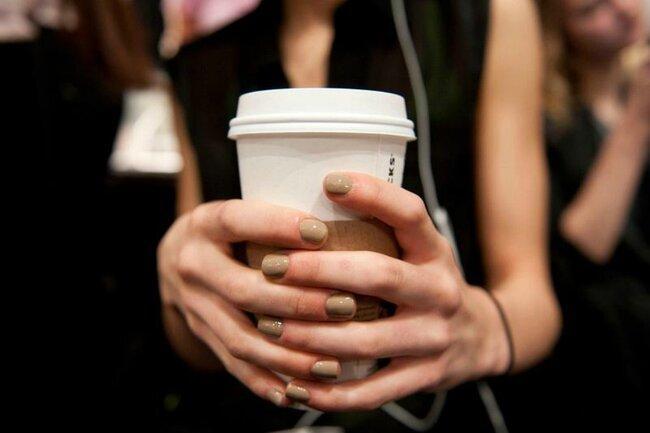 'Case Study', visto no desfile de Lela Rose na Mercedes Benz Fashion Week de Nueva York. Foto: Essie