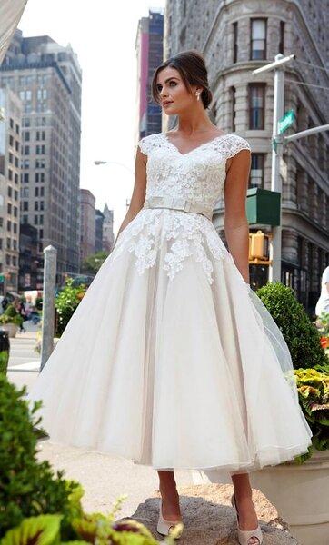 Vestidos de novia con bolsillos 2017