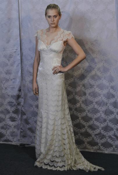 Robe de mariée Claire Pettibone, Printemps 2013