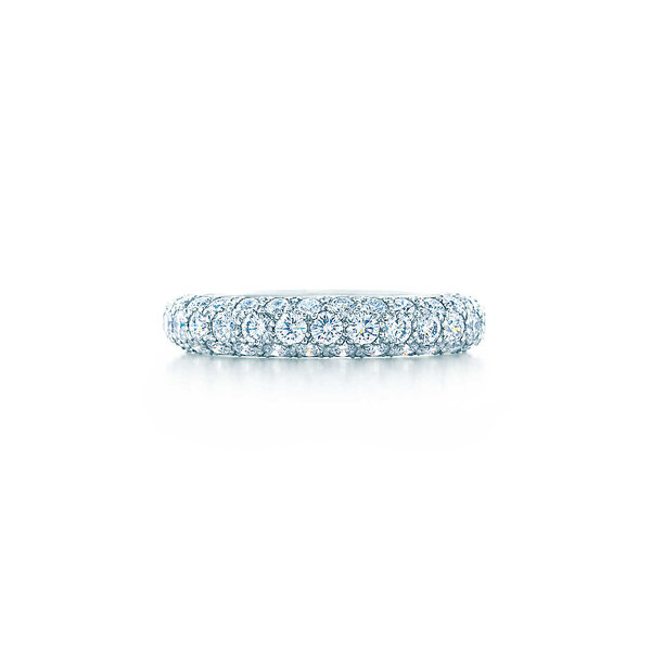 Three-row band ring, Tiffany and Co