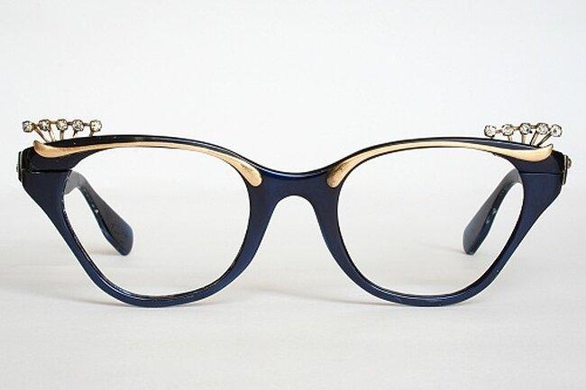 Gafas de gata estilo vintage