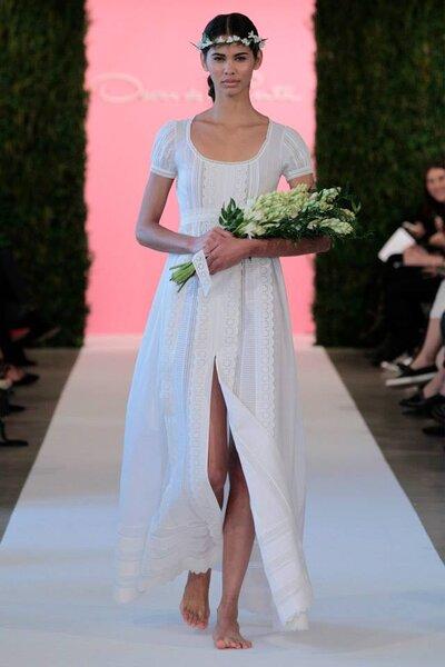 Foto: Vestidos de noiva Oscar de la Renta 2015 - New York Bridal Week