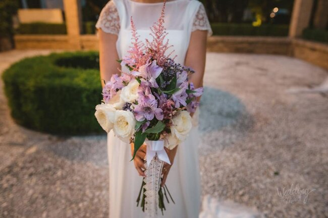 Precioso ramo de novia.