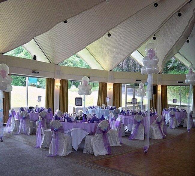 Luftballons als Dekoration für Ihre Hochzeit