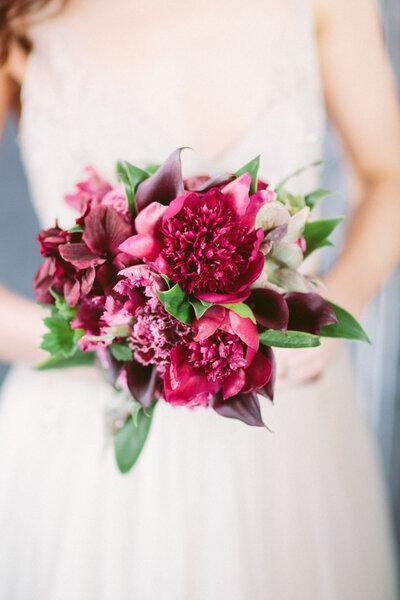 Herbstblumen für die Hochzeit
