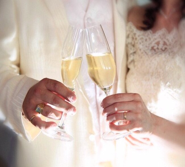 Trinquer au champagne