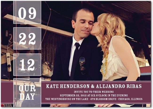 Tendencia en invitaciones de boda 2013