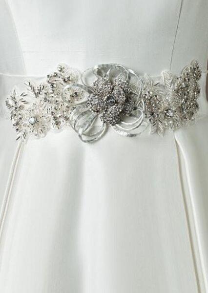 Cinturones para el vestido de novia