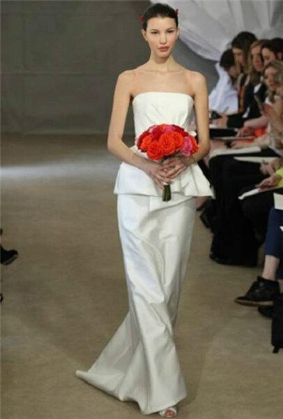 Mehrlagige Brautkleider