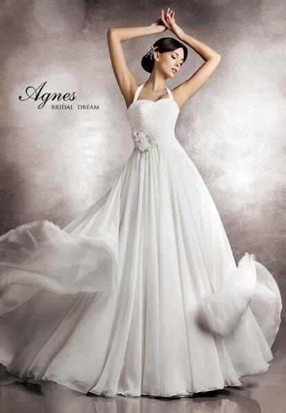 Suknia ślubna Agnes 2013 z kolekcji MoonLight, model 11255
