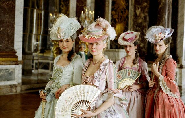 Marie Antoinette, d'après Sofía Coppola.