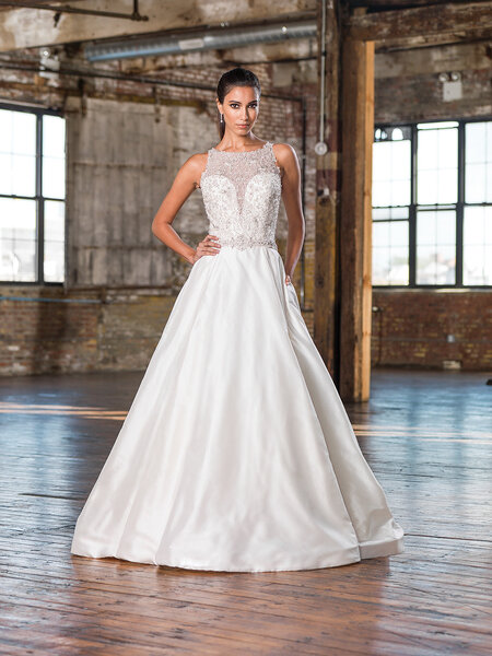 Style 9827, Justin Alexander Signature.