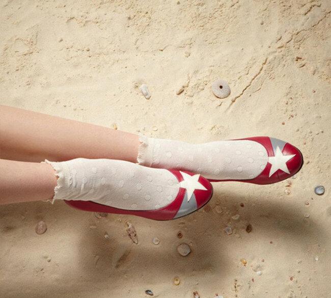 Ballerine modello Dunya di Ellips Chaussures