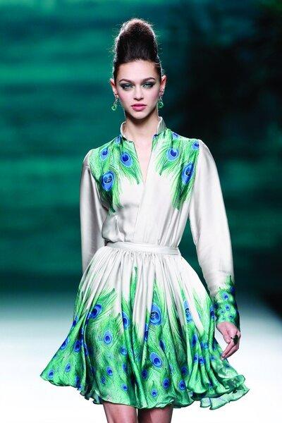 Francis Montesinos Otoño/Invierno 2014. Foto: Mercedes Fashion Week Madrid.