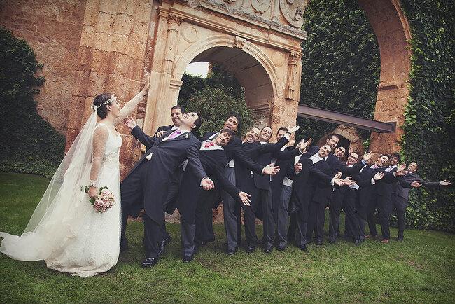 Las fotos de boda más divertidas - Foto: 35mm fotografas