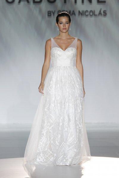 Vestidos de novia y fiesta primavera 2015 de Cabotine