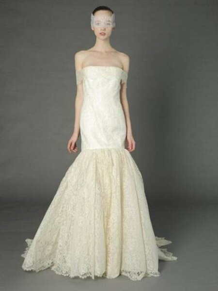 Vestido de noiva Douglas Hannant. Foto: Dougals Hannant