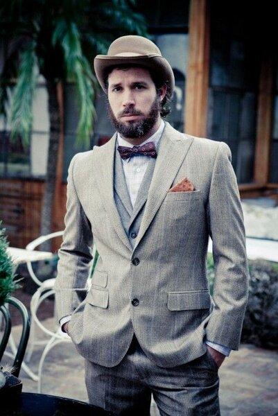 Pan Młody z brodą, Foto: Pinterest