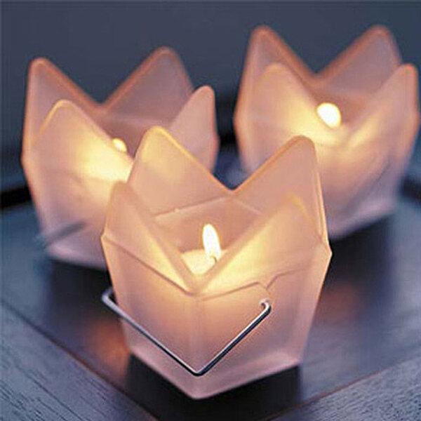 Originelle Kerzen für die Hochzeitsdekoration
