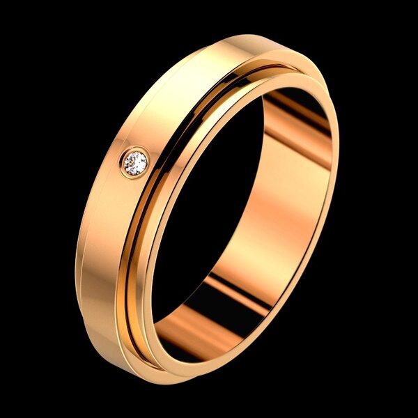 Selección de joyas de novia de oro rosa