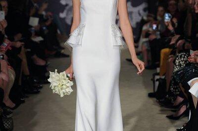 Una reina envuelta en elegancia: Vestidos de novia primavera 2015 de Carolina Herrera