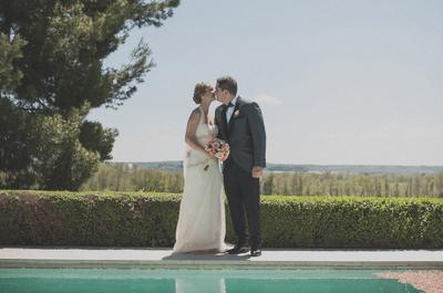 Música, sonrisa, luz y emociones: la boda de Ana y Luismi