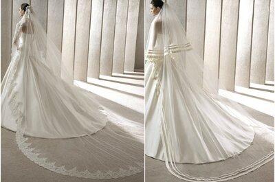Los velos de novia que querrás lucir en 2015