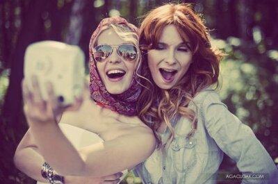 Inspiración para fotos de novia: Thelma y Louise