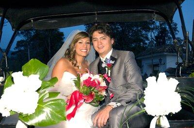 Alejandra y Mario: un matrimonio de cuento