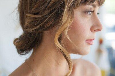 Coiffures pour les mariées à frange : trouvez celle qui vous ira le mieux en 2015!