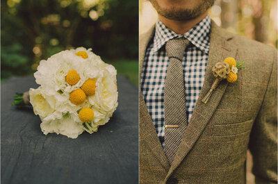 Ein Brautstrauß mit gelben Blumen lässt Sie am Hochzeitstag strahlen