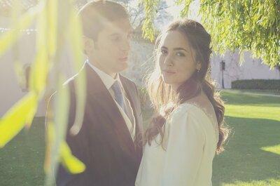 Con las emociones a flor de piel: la boda de Rocío y Borja